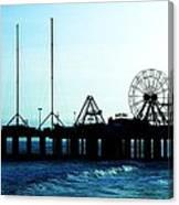 Pier Atlantic City Canvas Print