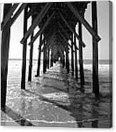 Pier Path Canvas Print
