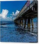 Pier Series 3 Canvas Print