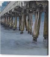 Pier Series 5 Canvas Print