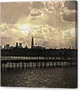 Pier View 1 Canvas Print