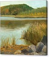 Piermont Shoreline Canvas Print