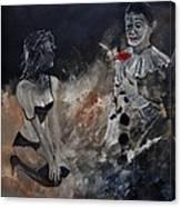 Pierrot Lunaire Canvas Print