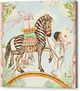 Pierrot Canvas Print
