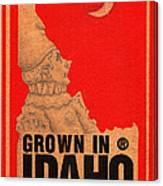 Pierrot Of Idaho Canvas Print