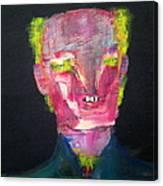 Pietro Bomber Canvas Print
