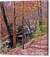 Pigeon Forge River Canvas Print