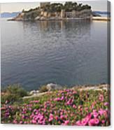 Pigeon Island Kusadasi Turkey  Canvas Print