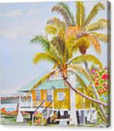 Pigeon Key - Home Canvas Print
