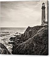 Pigeon Point Light Canvas Print