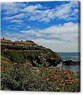 Pigeon Point Lighthouse Painted Canvas Print
