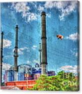 Pigs On The Wing Revisited Canvas Print