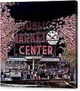 Pike Place Market IIi Canvas Print
