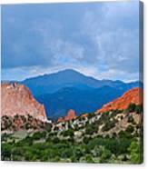 Pikes Peak Canvas Print