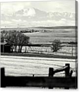 Pikes Peak From Ramah Canvas Print