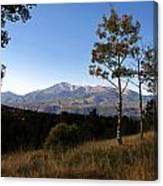 Pikes Peak Landscape Canvas Print