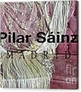Pilar Sainz Designer Canvas Print