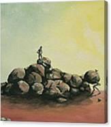 Pile 209 Canvas Print