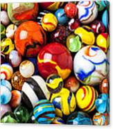 Pile Of Marbles Canvas Print