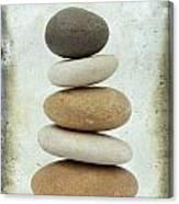 Pile Of Pebbles Canvas Print