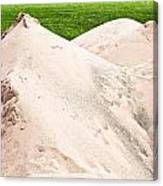 Pile Of Sand Canvas Print