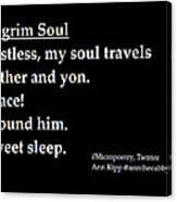Pilgrim Soul Canvas Print