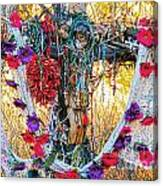 Pilgrimage Shrine Canvas Print