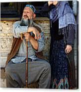 Pilgrims... Canvas Print