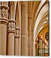 Pillars Of Faith Canvas Print