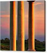 Pillars Of Life Canvas Print