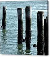 Pillars Of The Sea Canvas Print