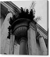Pillars Upon Pillars Canvas Print