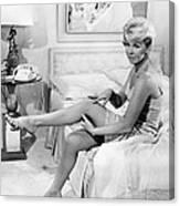 Pillow Talk, Doris Day, 1959 Canvas Print
