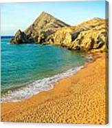 Pilon De Azucar Beach Canvas Print