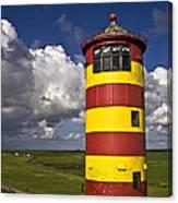 Pilsum Lighthouse Canvas Print