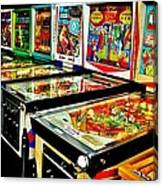 Pinball Alley Canvas Print