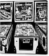 Pinball Memories Canvas Print
