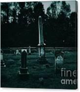 Pine Hill Cemetery Canvas Print