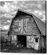 Pinedale Barn Canvas Print