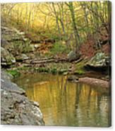 Piney Creek Reflections Canvas Print