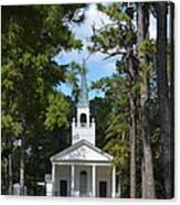 Piney Grove Church Canvas Print