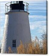 Piney Point Lighthouse Canvas Print