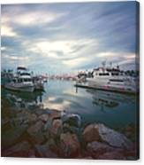 Pinhole Oceanside Harbor Canvas Print