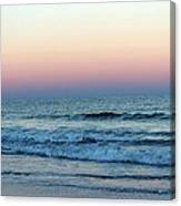 Pink And Blue Sky Canvas Print