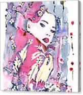 Pink Beauty Canvas Print