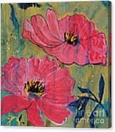 Pink Blossoms Canvas Print