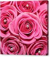 Pink Bouquet Canvas Print