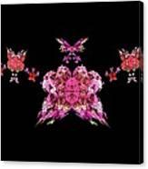 Pink Butterflies Canvas Print