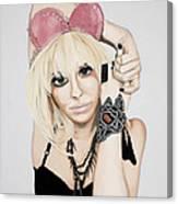 Pink Ears Canvas Print