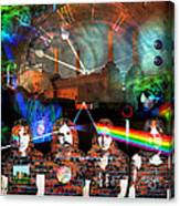 Pink Floyd Collage Canvas Print